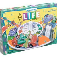Amazon.com: Monster,inc. Edition Life Game: Toys & Games