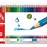 Caran dAche Fancolor Colored Pencil Kit (40 Colors)