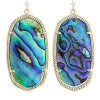 Danielle Earrings in Abalone Shell - Kendra Scott Jewelry