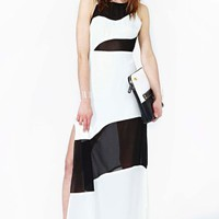 Little Secrets Maxi Dress - Colorblock