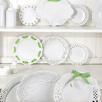 Porcelain Hanging Plate Collection