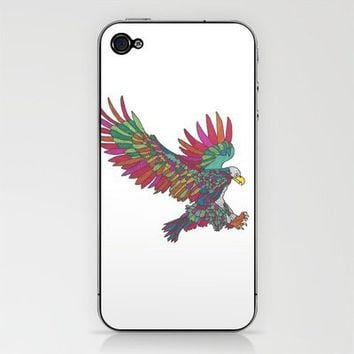 Technicolor Eagle iPhone & iPod Skin