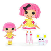 Lalaloopsy Mini Littles Doll - Crumbs Sugar Cookie/ Sprinkle Spice Cookie