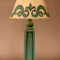 French Seaside Style Home Decor â?? Blue Cottage Table Lamp