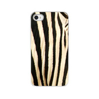 iPhone Case  Black &amp; White Zebra Stripes  by paperangelsphotos