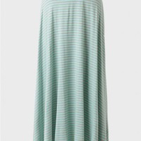 Mint Bliss Striped Maxi Skirt at ShopRuche.com