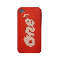 One Note - iPhone 4 Case from Zazzle.com