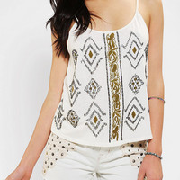 Ecote Fireworks Cropped Swing Cami