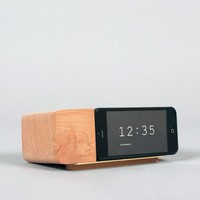 Areaware Alarm Dock I.Phone5 - Natural