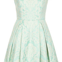 Mint Lace Shoulder Dress...Follow me for more:)