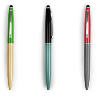 Kikkerland Design Inc   » Products  » Retro Pen + Stylus