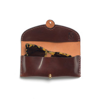 Freemans Sporting Club — Shell Cordovan Sunglasses Case