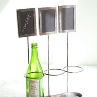 Un Vin Aficionado Metal Wine Holder | Modern Vintage New Arrivals