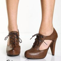 Lace Up High Heels - &amp;#36;35