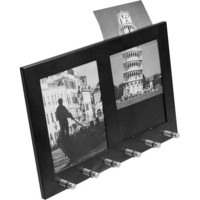 Barska - 2-Section 4&quot; x 6&quot; Steel Photo Frame