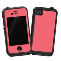 """Coral """"Protective Decal Skin"""" for LifeProof 4/4S Case"""
