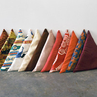 Triangle Pillows  Sight Unseen