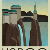 Naboo Retro Travel Photo at AllPosters.com