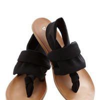 ModCloth Minimal Stay in the Loop Sandal