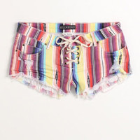 Billabong Lace Up Stripe Shorts at PacSun.com