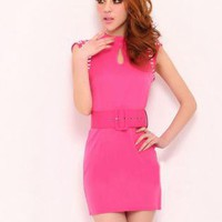Retro Sleeveless Dress FF012