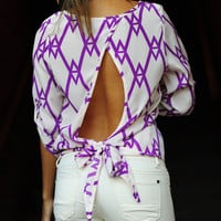 Check Me Out Top: Bright Purple | Hope's