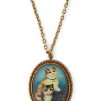 Paws-itively Purr-fect Necklace