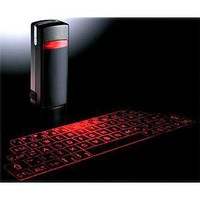 ThinkGeek :: Bluetooth Laser Virtual Keyboard