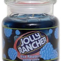 Jolly Rancher by Hanna&#x27;s Candle 16.75-Ounce Jolly Rancher Blue Raspberry Jar Candle