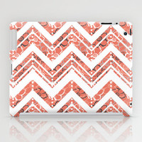 Bouquet Chevron iPad Case by Heather Dutton
