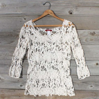 Morning Horse Lace Blouse