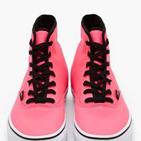 Authentic Hi Sneaker - Neon Pink
