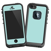 Mint Skin  for the iPhone 5 Lifeproof Case by skinzy.com