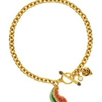 Juicy Couture | Pave Watermelon Wish Bracelet
