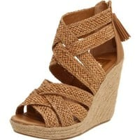DV by Dolce Vita Women's Tulle Wedge Sandal - designer shoes, handbags, jewelry, watches, and fashion accessories | endless.com