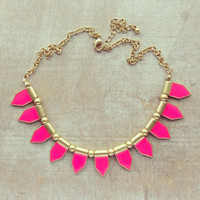 Pree Brulee - Parisian Circus Tents Necklace