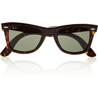 Ray-Ban | The Wayfarer acetate sunglasses | NET-A-PORTER.COM