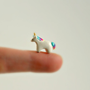 Reserved Listing - Deposit For Custom Micro Unicorn - Hand Sculpted Miniature Polymer Clay Animal