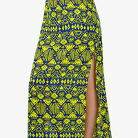 A'GACI TRIBAL CUT-OUT MAXI SKIRT - BEST SELLERS