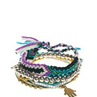 River Island Friendship Bracelet Multipack at asos.com