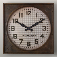 1940s Gymnasium Clock