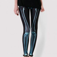 X-Ray Skeleton Print Legging