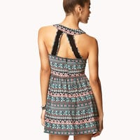 Tribal-Inspired Cutout Back Dress | FOREVER 21 - 2021841338