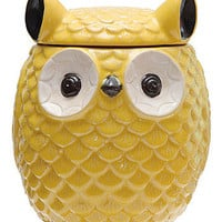 Owl Keep a Secret Jar