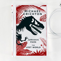 Jurassic Park Book Charger for iPhone by CANTERWICK