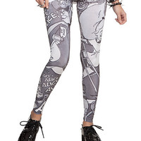 Disney Alice In Wonderland Leggings Pre-Order | Hot Topic