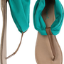 EAST LION CHIFFON STRETCH THONG SANDAL | Swell.com
