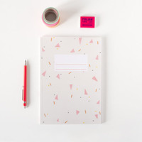 Triangles Notebook by Depeapa
