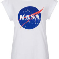 Nasa Badge Tee By Tee And Cake