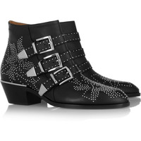 Chloé | Susanna studded leather boots | NET-A-PORTER.COM